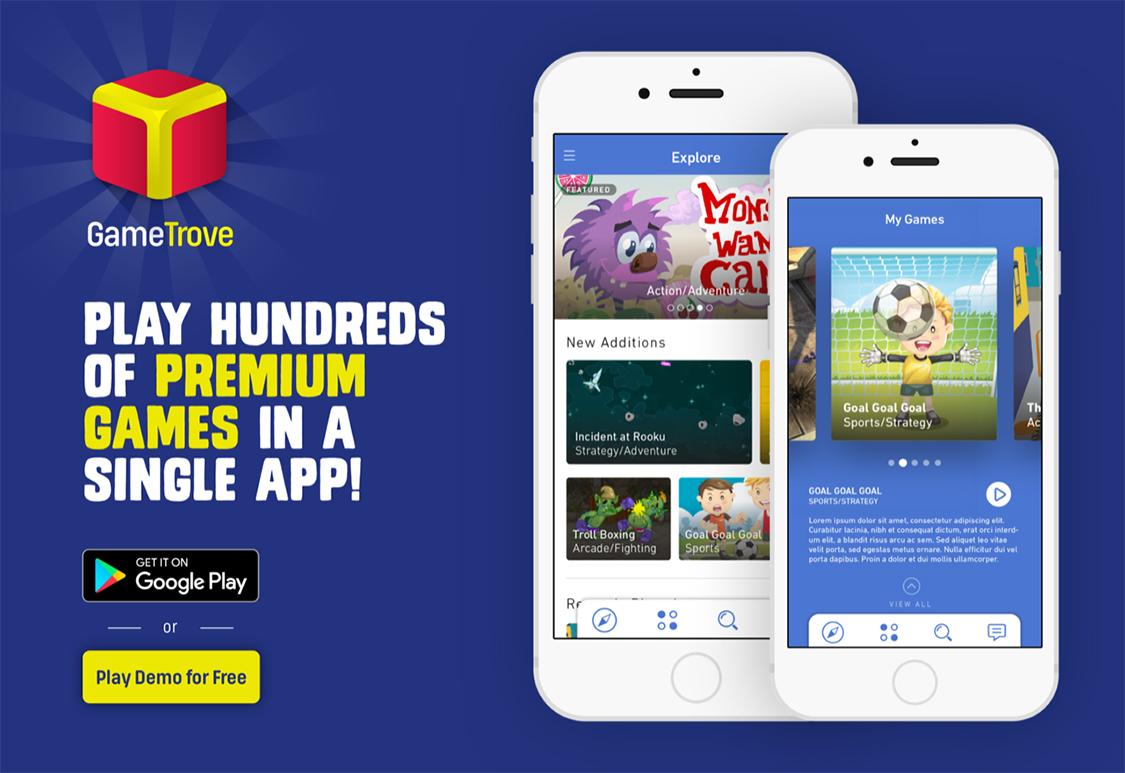 Faça o download do aplicativo GameTrove