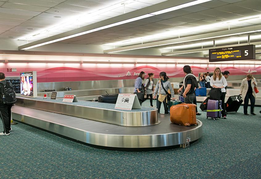 Baggage reclaim multiple dating