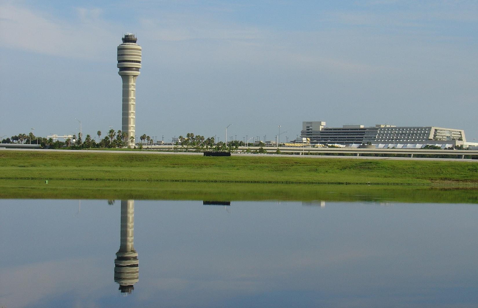 FAA Tower/Terminal Across Lake