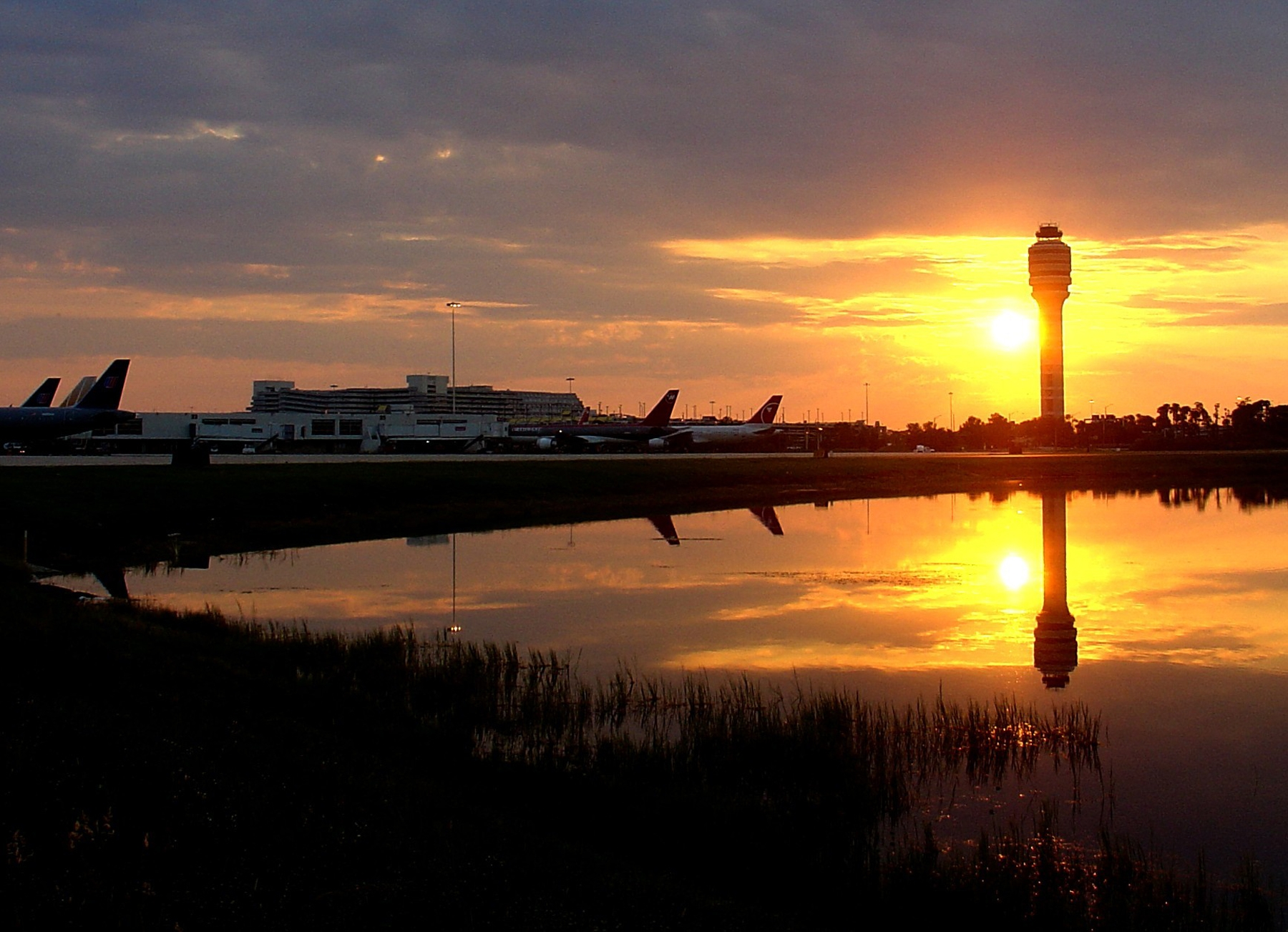 Airside 3 at Sunrise