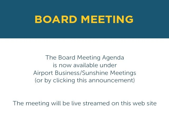 Board Meeting Documents