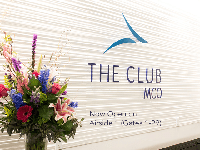 The Club at MCO on Airside 1 (Gates 1-29)