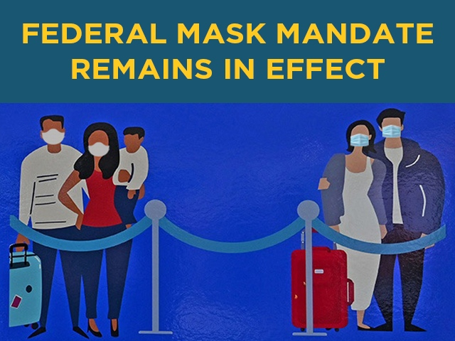 Mask Mandate Remains in Effect at MCO
