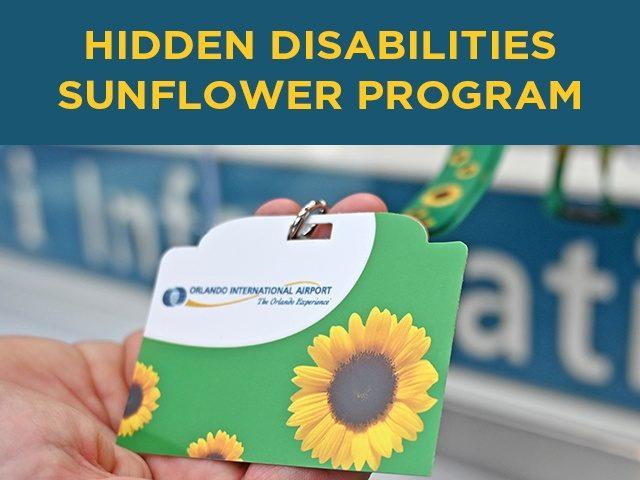 Hidden Disabilities Sunflower Lanyard Program