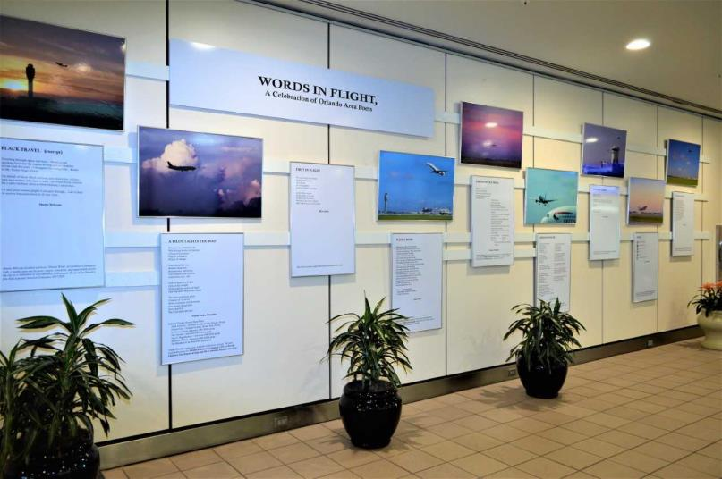 Orlando International Airport, City of Orlando Partner to Host First-Ever Poetry Exhibit