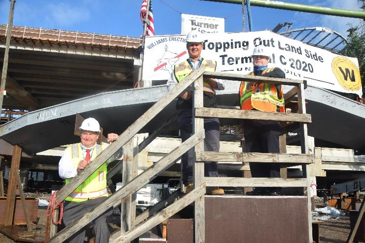 Construction Milestone Reached at Orlando International Airport's South Terminal Site